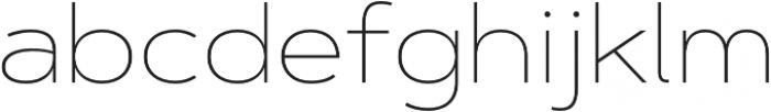 Artegra Sans Extended Thin otf (100) Font LOWERCASE