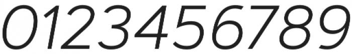 Artegra Sans Light Italic otf (300) Font OTHER CHARS