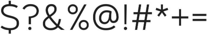 Artegra Sans Light otf (300) Font OTHER CHARS