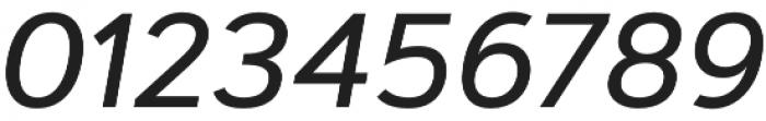 Artegra Sans Medium Italic otf (500) Font OTHER CHARS