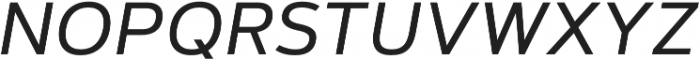 Artegra Sans SC Regular Italic otf (400) Font LOWERCASE