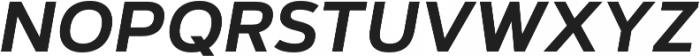 Artegra Sans SC SemiBold Italic otf (600) Font LOWERCASE