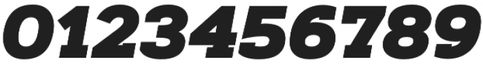 Artegra Slab Black Italic otf (900) Font OTHER CHARS