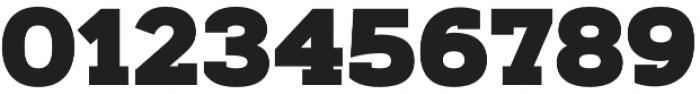 Artegra Slab Black otf (900) Font OTHER CHARS