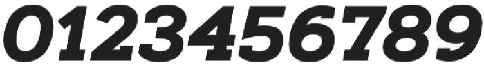 Artegra Slab Bold Italic otf (700) Font OTHER CHARS