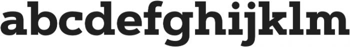 Artegra Slab Bold otf (700) Font LOWERCASE