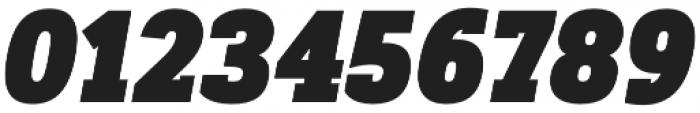 Artegra Slab Condensed Black Italic otf (900) Font OTHER CHARS