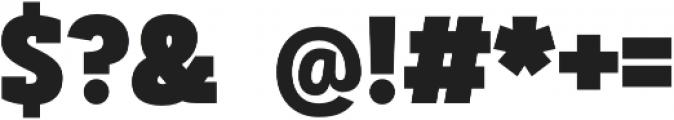 Artegra Slab Condensed Black otf (900) Font OTHER CHARS