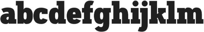 Artegra Slab Condensed Black otf (900) Font LOWERCASE