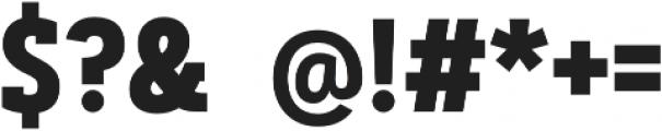 Artegra Slab Condensed Bold otf (700) Font OTHER CHARS