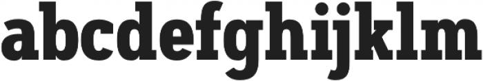 Artegra Slab Condensed Bold otf (700) Font LOWERCASE
