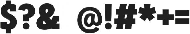 Artegra Slab Condensed ExtraBold otf (700) Font OTHER CHARS