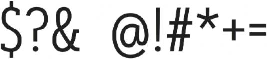 Artegra Slab Condensed Light otf (300) Font OTHER CHARS