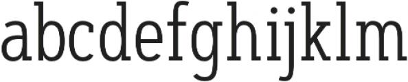 Artegra Slab Condensed Light otf (300) Font LOWERCASE