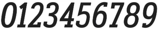 Artegra Slab Condensed Medium Italic otf (500) Font OTHER CHARS