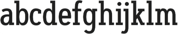Artegra Slab Condensed Medium otf (500) Font LOWERCASE