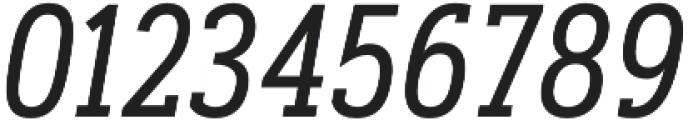 Artegra Slab Condensed Regular Italic otf (400) Font OTHER CHARS