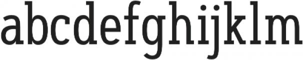 Artegra Slab Condensed Regular otf (400) Font LOWERCASE