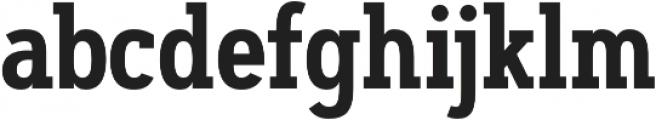 Artegra Slab Condensed SemiBold otf (600) Font LOWERCASE