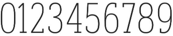 Artegra Slab Condensed Thin otf (100) Font OTHER CHARS