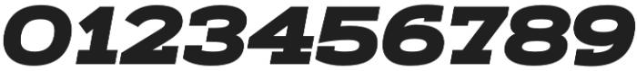 Artegra Slab Extended Black Italic otf (900) Font OTHER CHARS