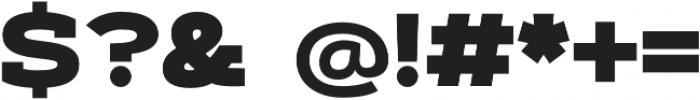 Artegra Slab Extended Black otf (900) Font OTHER CHARS
