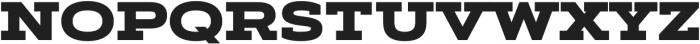 Artegra Slab Extended Black otf (900) Font UPPERCASE