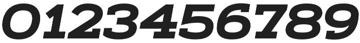 Artegra Slab Extended Bold Italic otf (700) Font OTHER CHARS