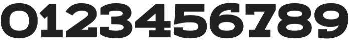 Artegra Slab Extended ExtraBold otf (700) Font OTHER CHARS