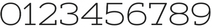Artegra Slab Extended ExtraLight otf (200) Font OTHER CHARS