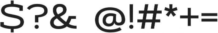 Artegra Slab Extended Medium otf (500) Font OTHER CHARS