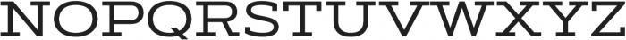 Artegra Slab Extended Medium otf (500) Font UPPERCASE