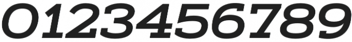 Artegra Slab Extended SemiBold Italic otf (600) Font OTHER CHARS