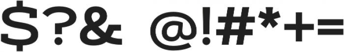 Artegra Slab Extended SemiBold otf (600) Font OTHER CHARS