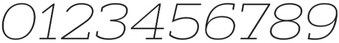 Artegra Slab Extended Thin Italic otf (100) Font OTHER CHARS