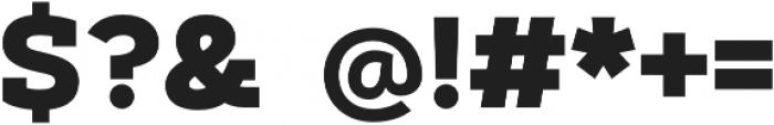 Artegra Slab ExtraBold otf (700) Font OTHER CHARS