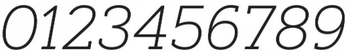 Artegra Slab ExtraLight Italic otf (200) Font OTHER CHARS