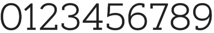Artegra Slab Light otf (300) Font OTHER CHARS