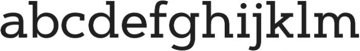 Artegra Slab Medium otf (500) Font LOWERCASE