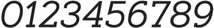 Artegra Slab Regular Italic otf (400) Font OTHER CHARS