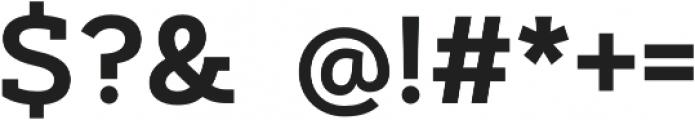 Artegra Slab SemiBold otf (600) Font OTHER CHARS