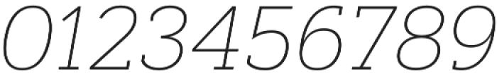 Artegra Slab Thin Italic otf (100) Font OTHER CHARS