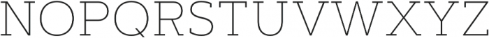 Artegra Slab Thin otf (100) Font UPPERCASE