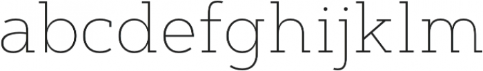 Artegra Slab Thin otf (100) Font LOWERCASE