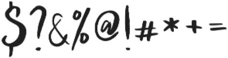 Arthard otf (400) Font OTHER CHARS