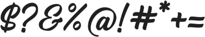 Arthein otf (400) Font OTHER CHARS