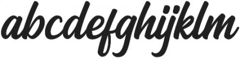 Arthein otf (400) Font LOWERCASE