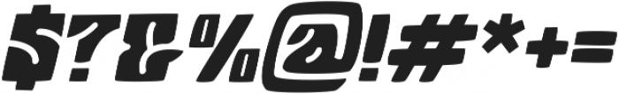 Arthos  Italic ttf (400) Font OTHER CHARS