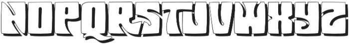 Arthos Shadow otf (400) Font LOWERCASE