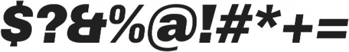 Arthur Black Italic otf (900) Font OTHER CHARS